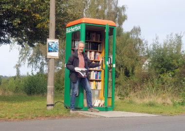 Nachhaltig schmökern in der Londorfer Bücherbox