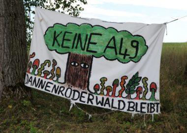 Tausende wollen den Dannenröder Wald retten – Verkehrswende jetzt! Demo am 04.10.