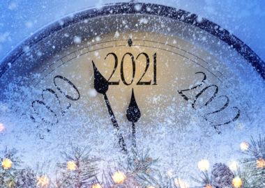 Danke, 2020. Willkommen, 2021!