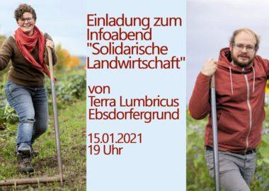 Infoabend am 15.01.: Gemeinsam Gemüse aus Solidarischer Landwirtschaft beziehen?