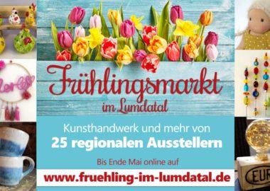 Nachhaltig, regional und bunt: Frühlingsmarkt im Lumdatal