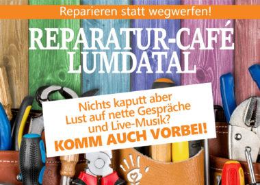 Reparatur-Café: live auf dem Kirchenplatz Treis, am 26.06.