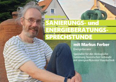 Kostenlose Sanierungs- und Energieberatungs-Sprechstunde
